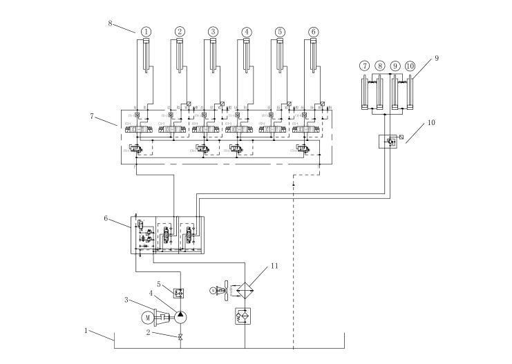 Φ1.2m微型盾构机刀盘与液压系统的设计
